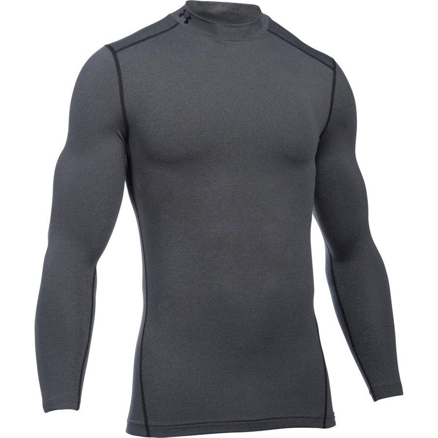 Šedé pánské funkční tričko s dlouhým rukávem Under Armour