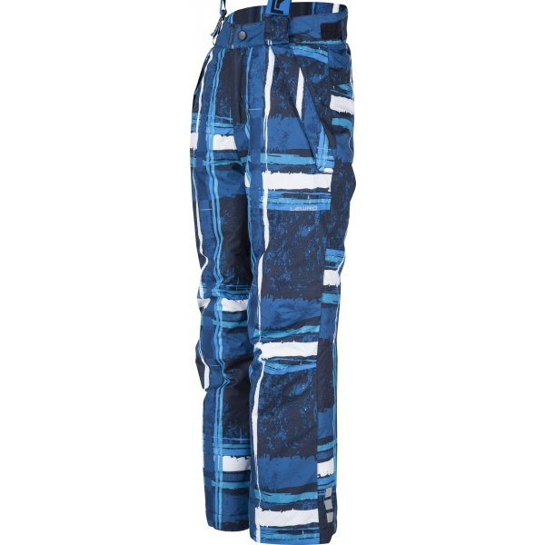 Modré dětské snowboardové kalhoty Lewro - velikost 140-146