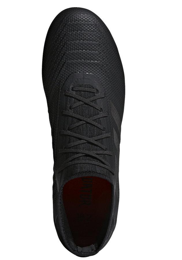 Černé kopačky lisovky Predator 18.2 FG, Adidas - velikost 43 EU