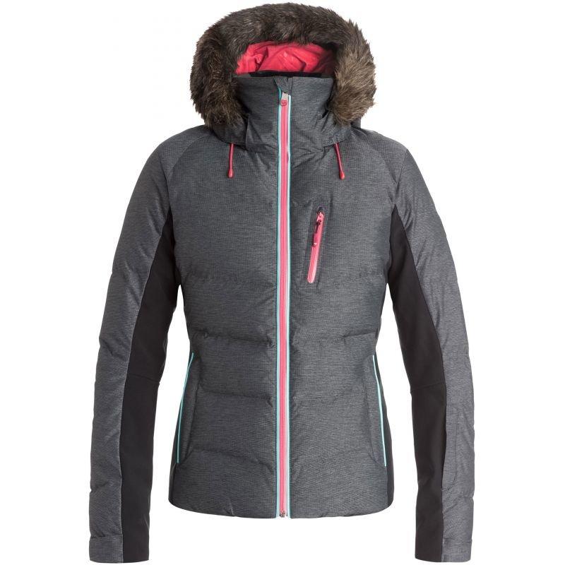 Šedá dámská snowboardová bunda Roxy - velikost L