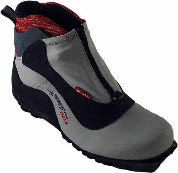 Bílo-černé boty na běžky - velikost 45 EU
