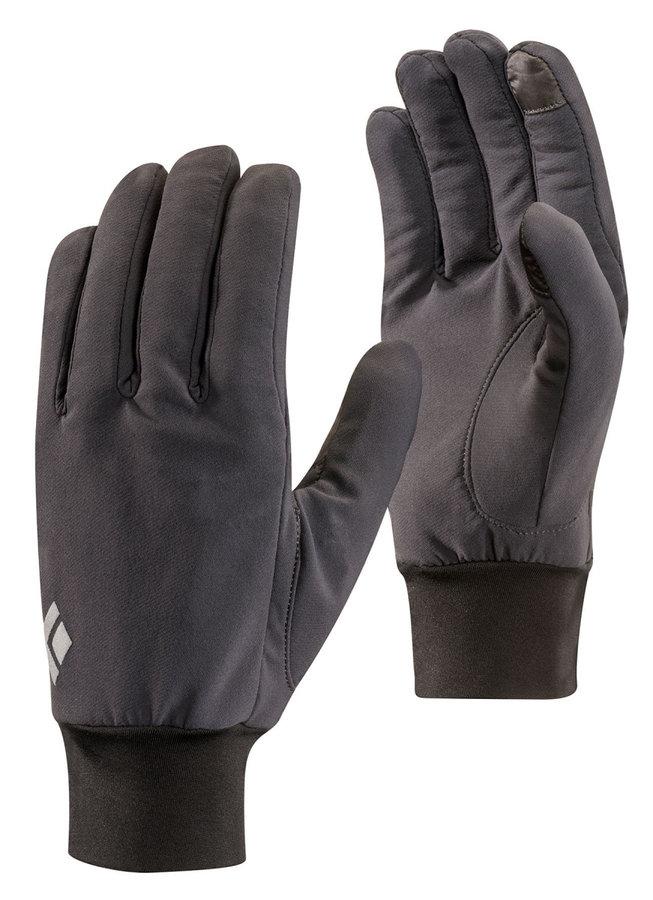 Šedé dámské zimní rukavice Black Diamond - velikost XL