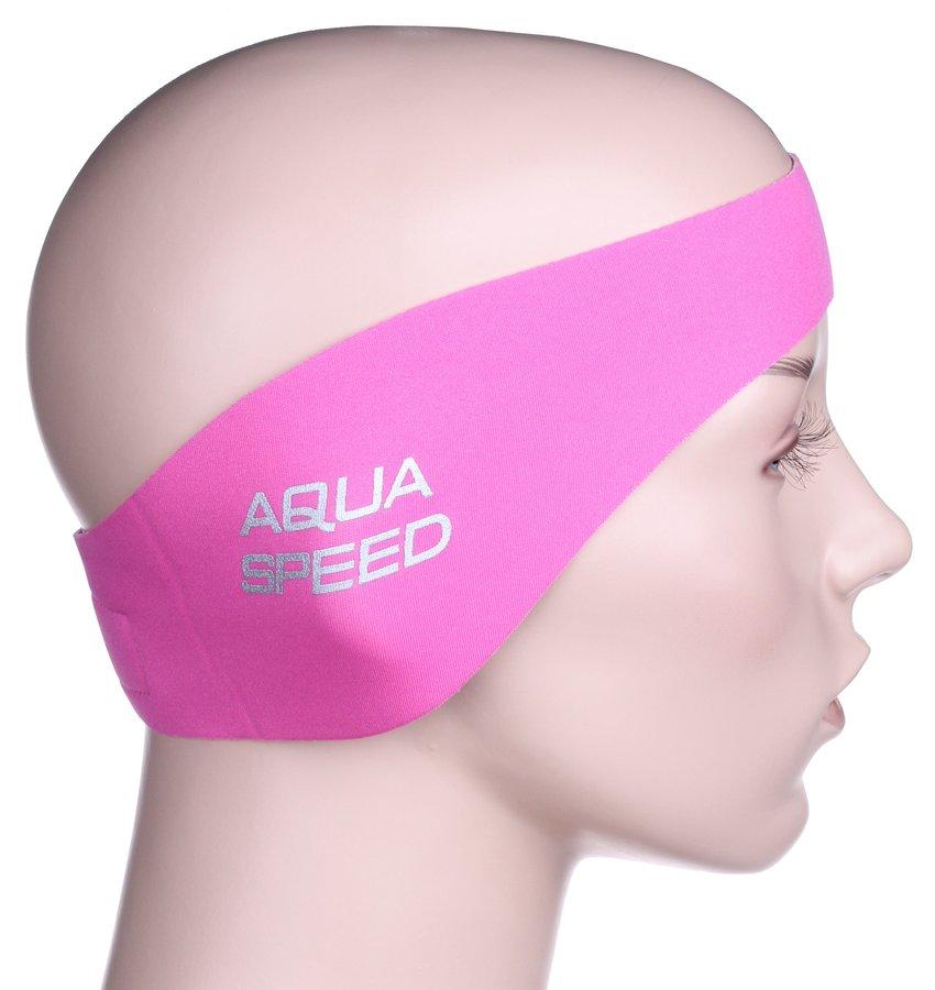 Růžová koupací čelenka Ear Neo, Aqua-Speed