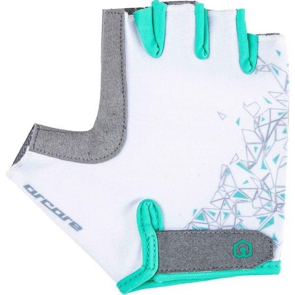Bílé dámské cyklistické rukavice Arcore - velikost L