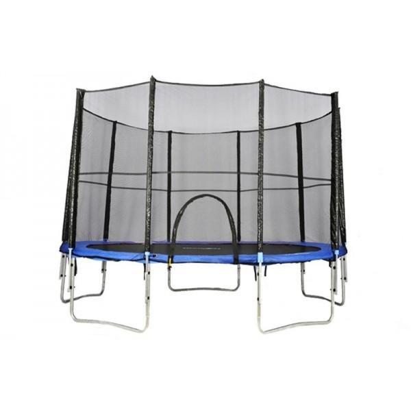 Kruhová trampolína s ochrannou sítí Athletic24 - průměr 305 cm
