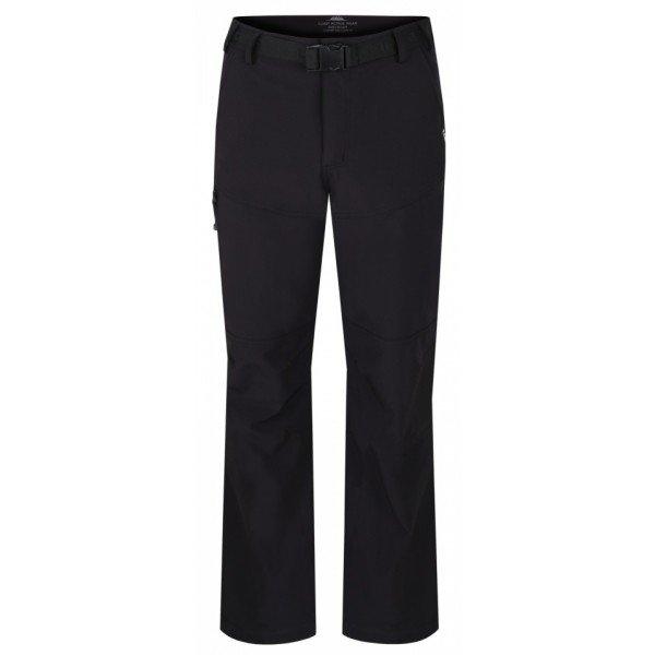 Černé softshellové pánské kalhoty Loap