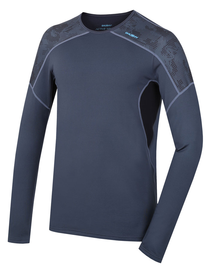 Termo tričko - Pánské termo triko - podzim, zima Active winter long L, antracit