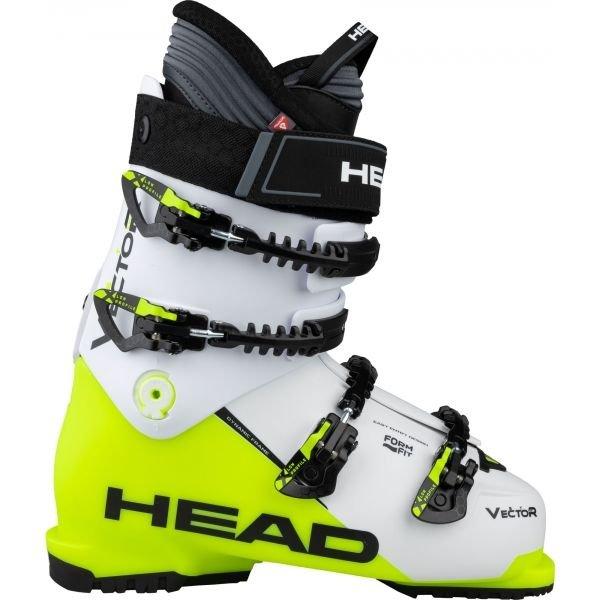 Bílo-žluté pánské lyžařské boty Head