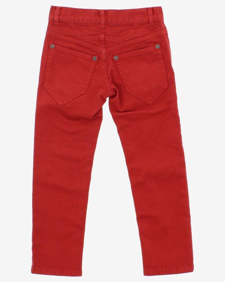 Červené dívčí džíny John Richmond - velikost 116