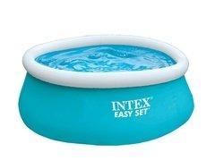 Modrý prstencový kruhový bazén Easy Set, INTEX - průměr 183 cm a výška 51 cm
