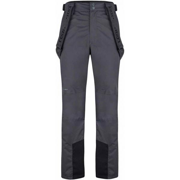 Šedé pánské lyžařské kalhoty Loap