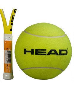 Tenisový míček Giant Tennis Promo Ball, Head - 1 ks