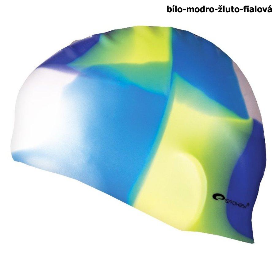 Různobarevná dámská nebo pánská plavecká čepice ABSTRACT, Spokey