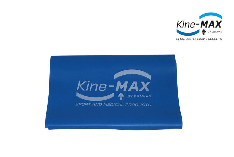 Posilovací guma - Kine-Max Resistance Band Level 4 - modrá - modrá