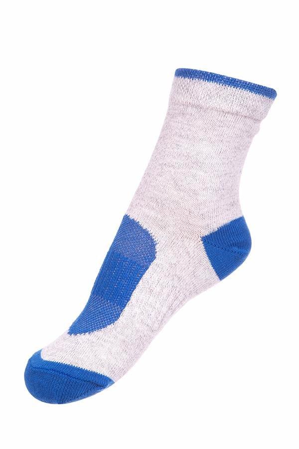 Bílé dětské kotníkové ponožky Alpine Pro