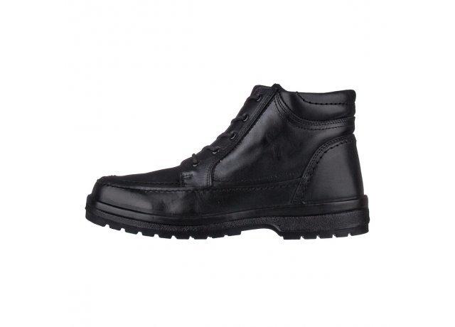 Černé pánské zimní boty Aurelia
