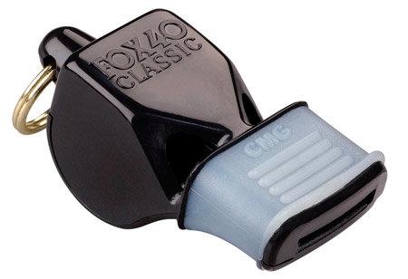 Píšťalka pro rozhodčího - Píšťalka FOX 40 CLASSIC CMG Official Black na krk