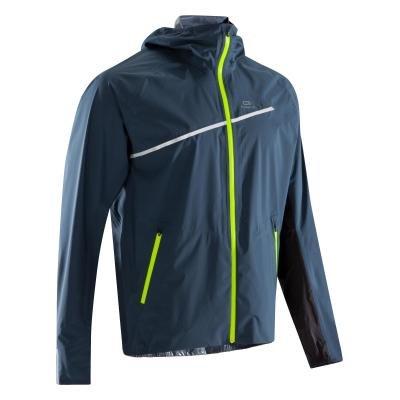 Modrá běžecká bunda Trail, Kalenji - velikost XXL