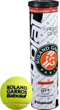 Tenisový míček French Open Clay, Babolat - 4 ks