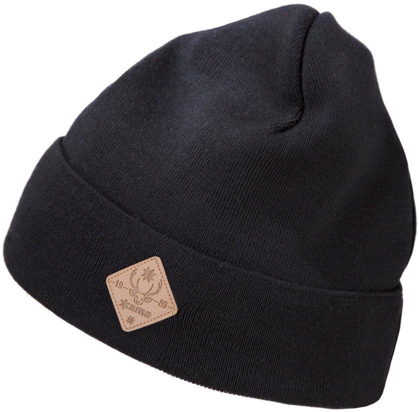 Černá dámská zimní čepice Kama