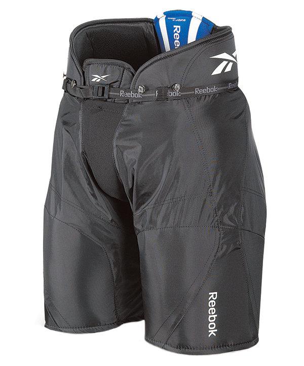 Černé hokejové kalhoty - junior Reebok - velikost S