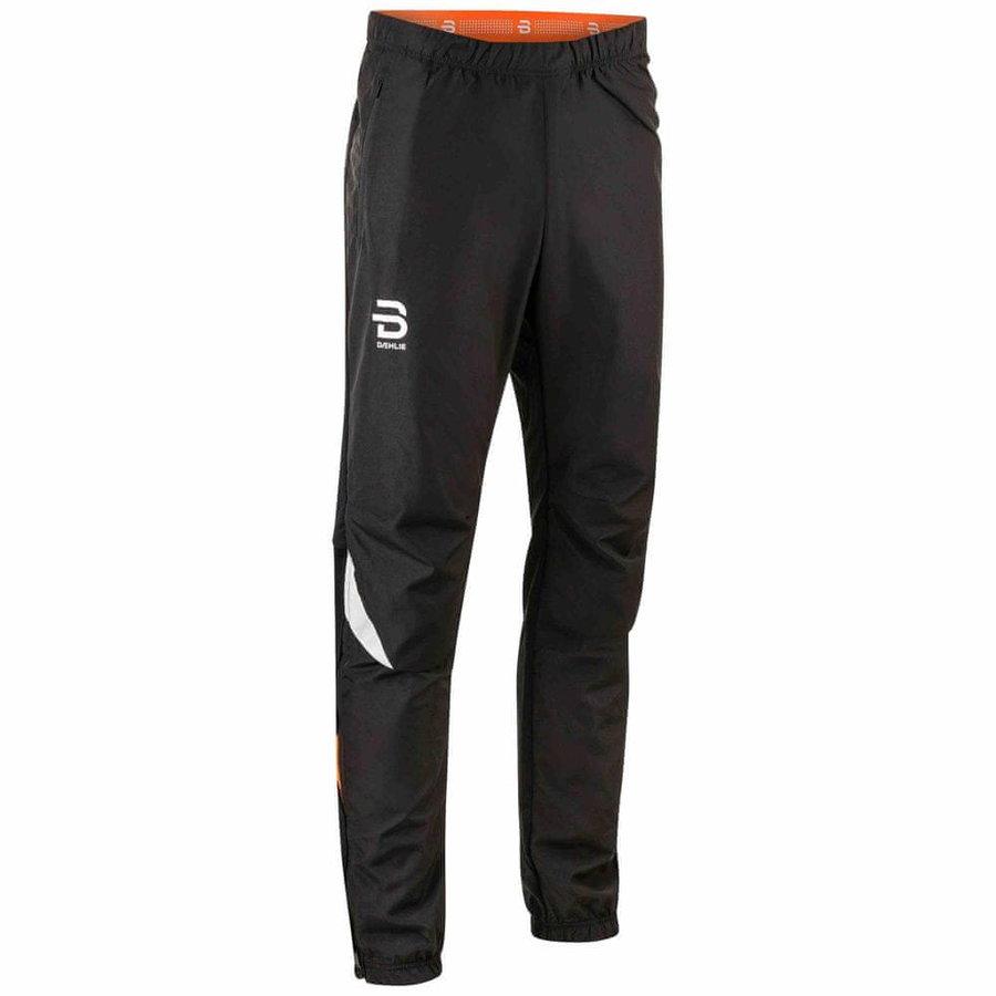 Černé pánské kalhoty na běžky Bjorn Daehlie