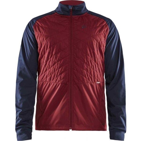 Červená pánská bunda na běžky Craft