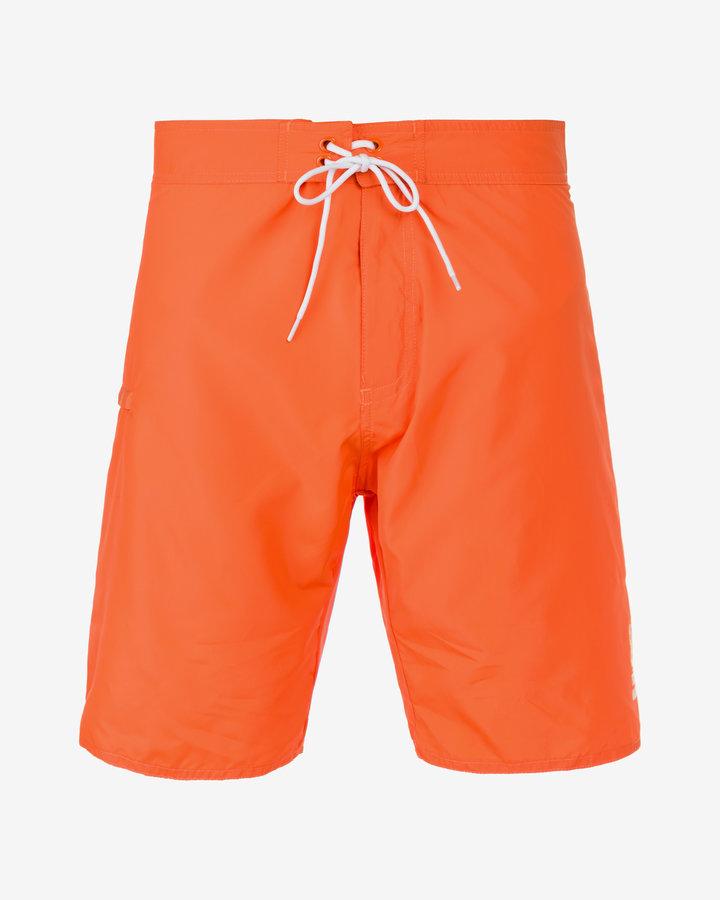 Oranžové pánské koupací kraťasy Franklin & Marshall - velikost XL