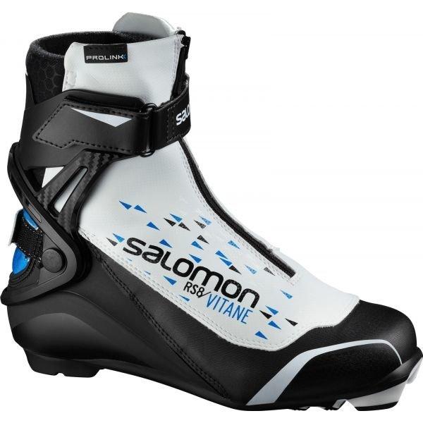 Bílo-černé dámské boty na běžky Salomon