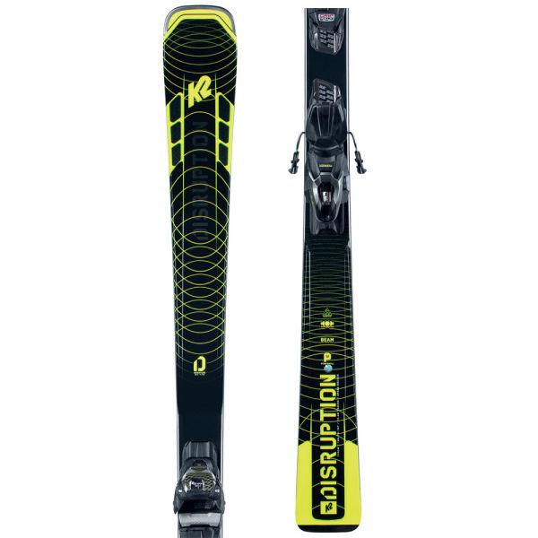 Černé pánské skialpové lyže s vázáním K2