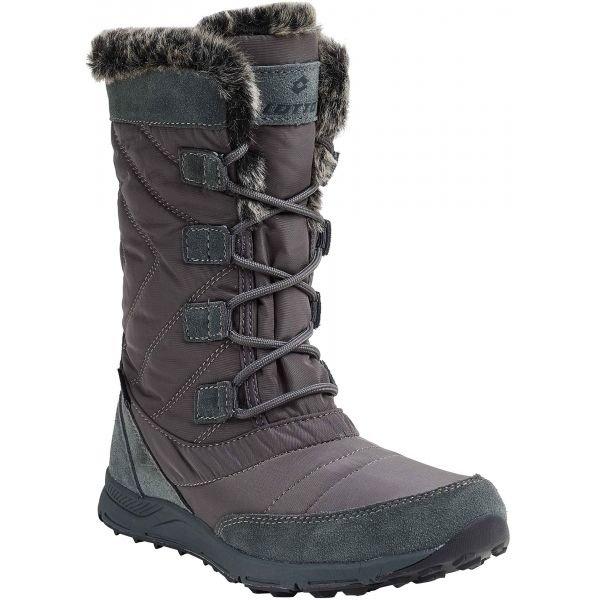 Hnědé dámské zimní boty CYNTHIA, Lotto