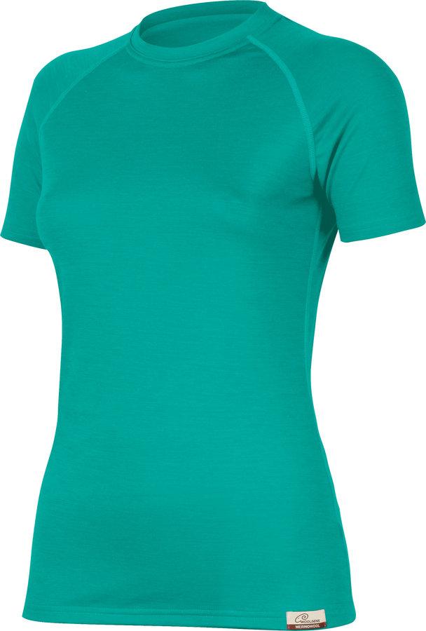 Tyrkysové dámské tričko s krátkým rukávem Lasting