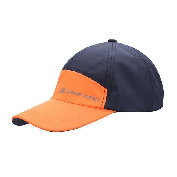 Černo-oranžová kšiltovka Clefto, Alpine Pro - univerzální velikost