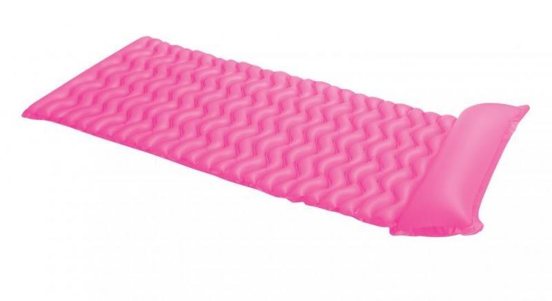 Růžové nafukovací lehátko INTEX - délka 229 cm a šířka 86 cm