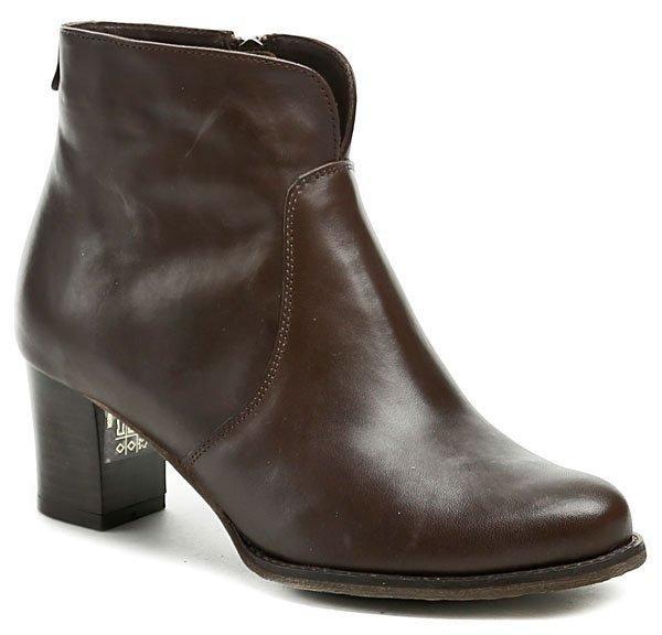 Hnědé dámské zimní boty Abil - velikost 39 EU