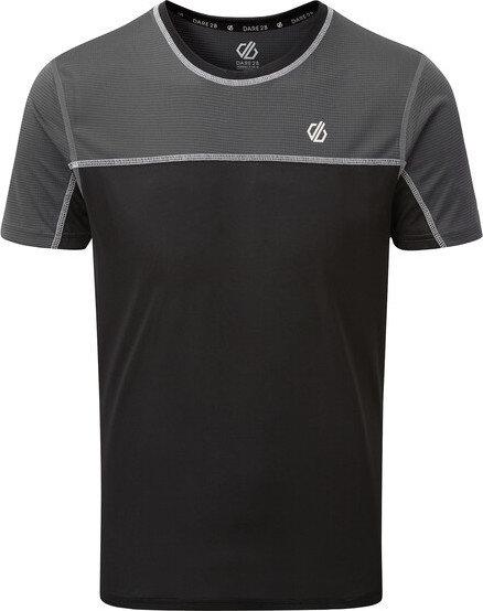Černé pánské funkční tričko s krátkým rukávem Dare 2b