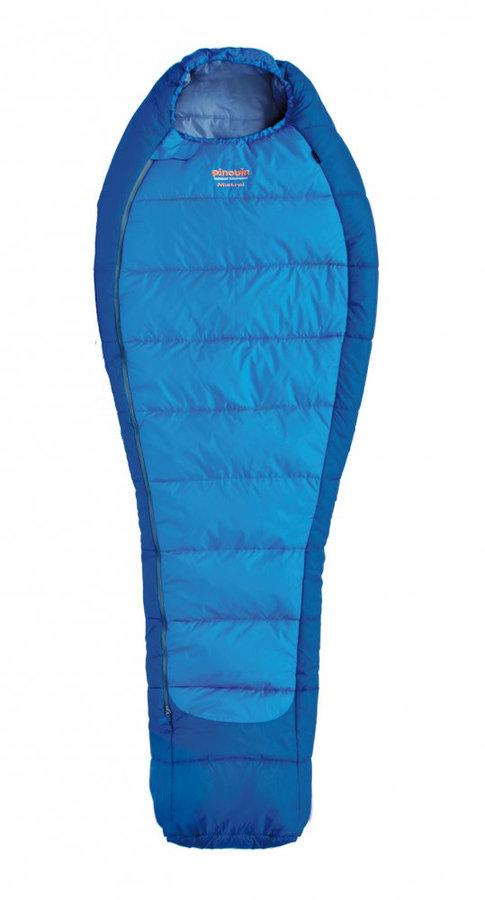 Modrý spací pytel Pinguin - délka 220 cm
