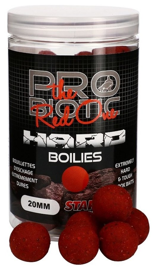 Boilies - Starbaits Boilie Hard Probiotic Red One 24mm 200g
