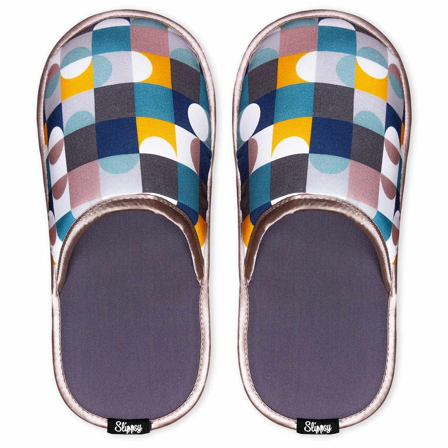Různobarevné pantofle Slippsy - velikost 38-40 EU