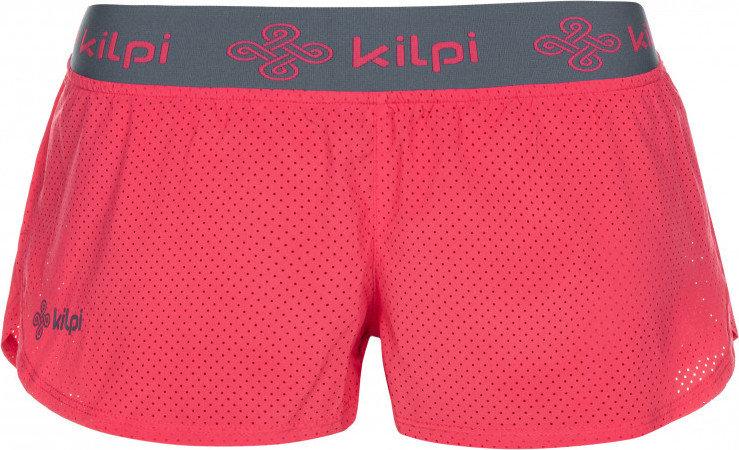 Růžové dámské běžecké kraťasy Kilpi - velikost 34