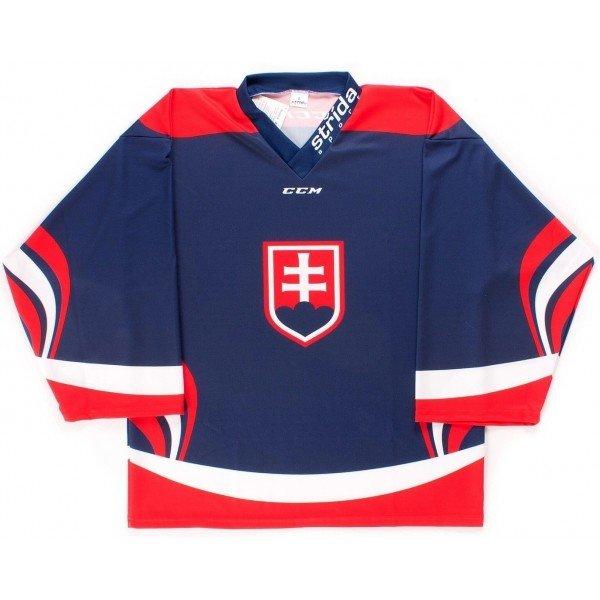 Modrý hokejový dres CCM - velikost XL