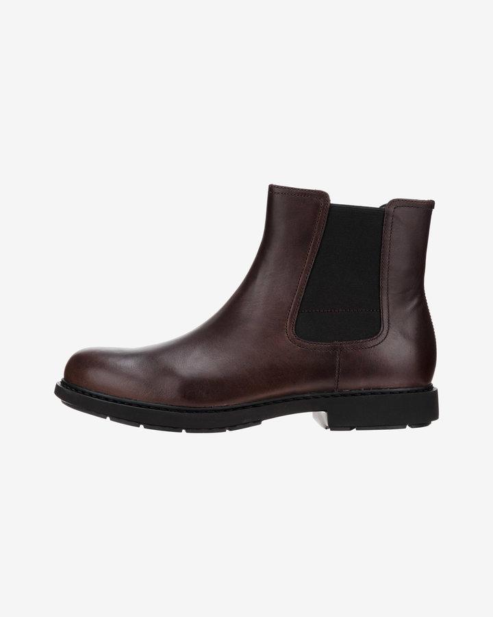 Hnědé pánské kotníkové boty Camper - velikost 41 EU