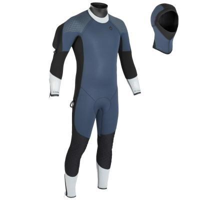 Modrý polosuchý oblek Subea - tloušťka 7 mm
