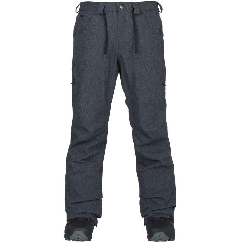 Šedé pánské snowboardové kalhoty Analog - velikost M