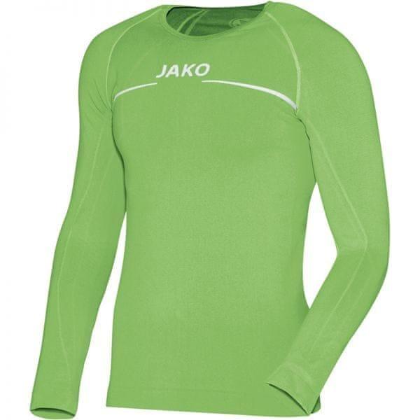 Zelené pánské basketbalové tričko s dlouhým rukávem Jako