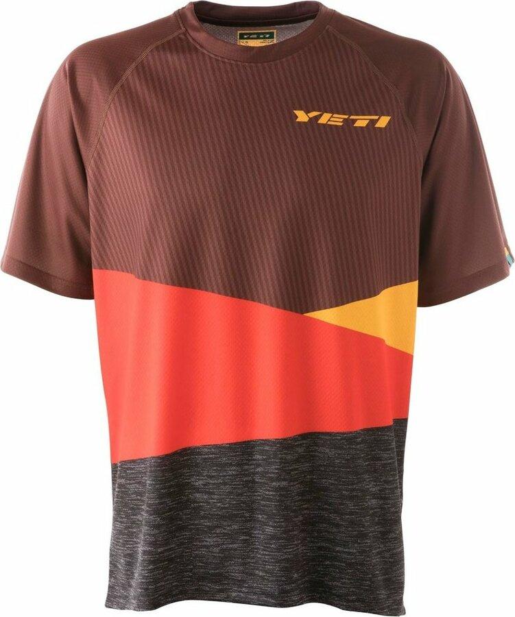 Červený pánský cyklistický dres YETI - velikost XL