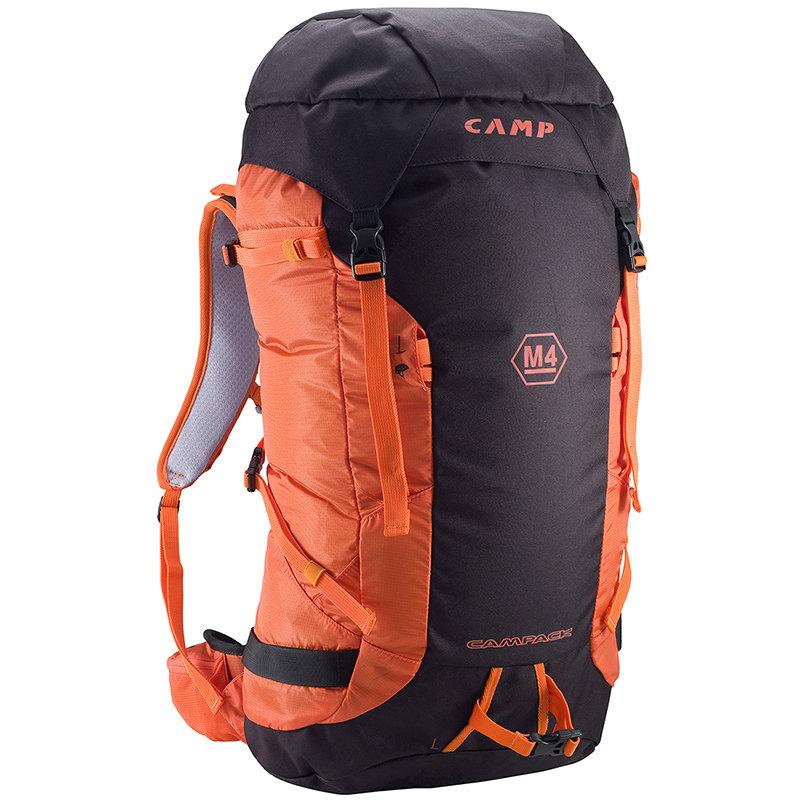 Černo-oranžový horolezecký batoh Camp - objem 40 l