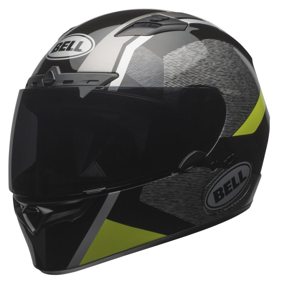 Černo-žlutá unisex helma na motorku Qualifier DLX MIPS Accelerator Hi-Viz, Bell - velikost 55-56 cm