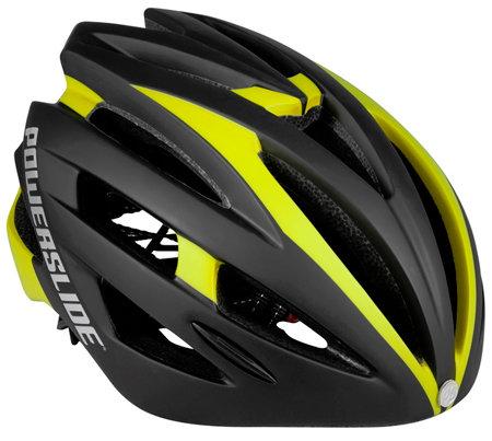 Cyklistická helma - Helma Powerslide Race Attack Black/Yellow XS/S (50-54 cm)