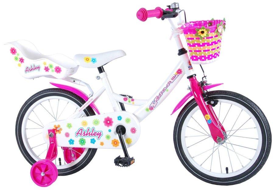 """Kolo - VOLARE - Dětské kolo pro dívky, Ashley,, 16 """"- růžový"""